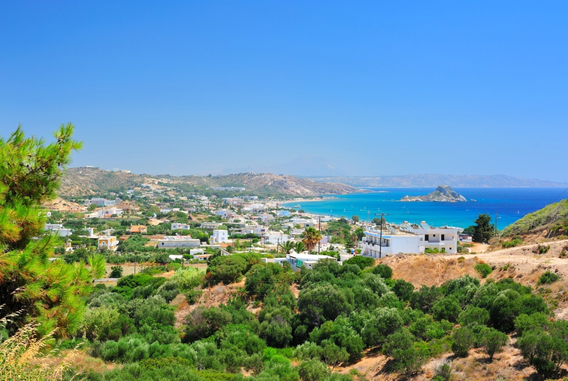 'Wonderful view to the sea from the mountains in Kefalos (Kos island, Greece)' - Kos